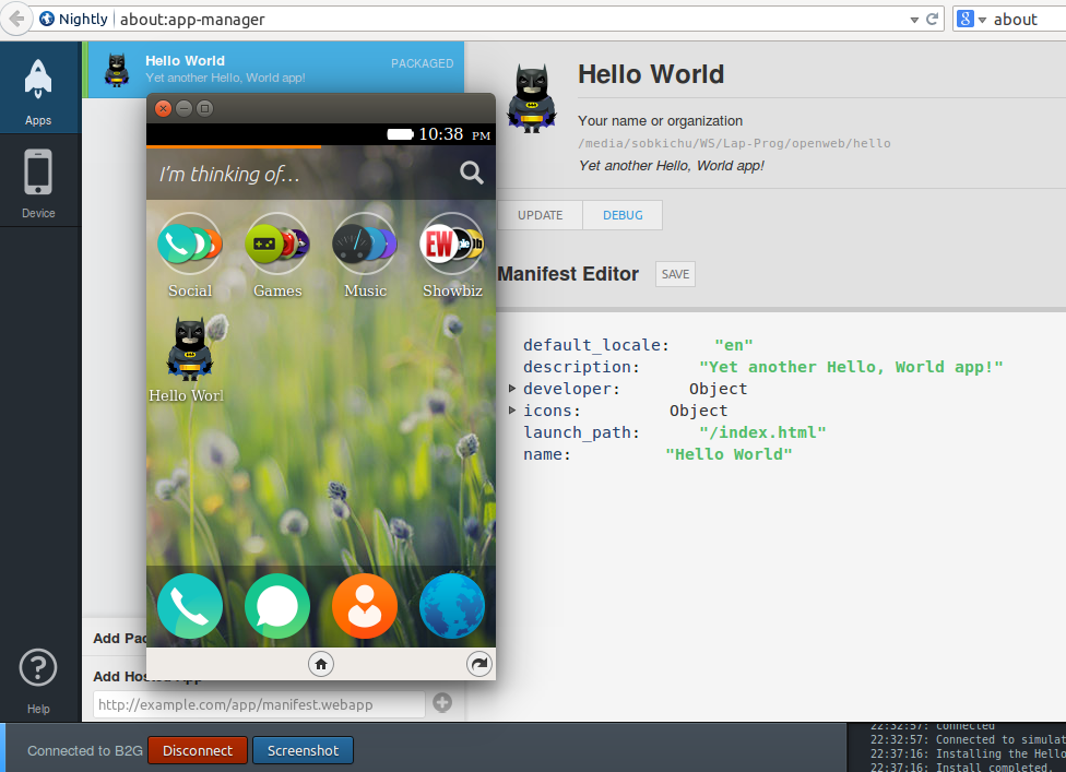 Kickstart Firefox OS Apps Development
